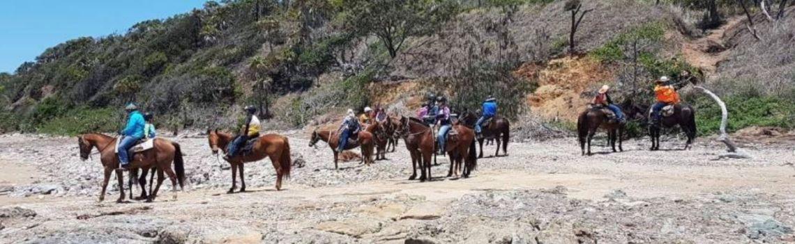 Breakaway Horse Riders Grasstree Beach Day Ride