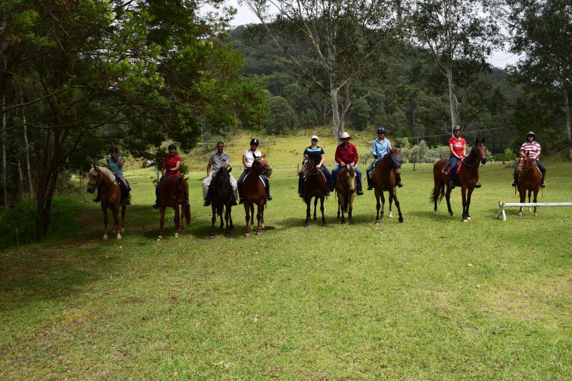 Blue Gum Flats Trail Horse Riding Club Inc