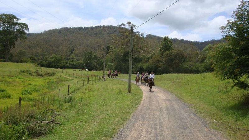 Xmas Ride Hidden Valley 2009