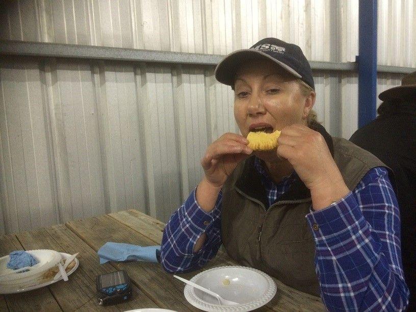 16 Dinner Denise - apple pie
