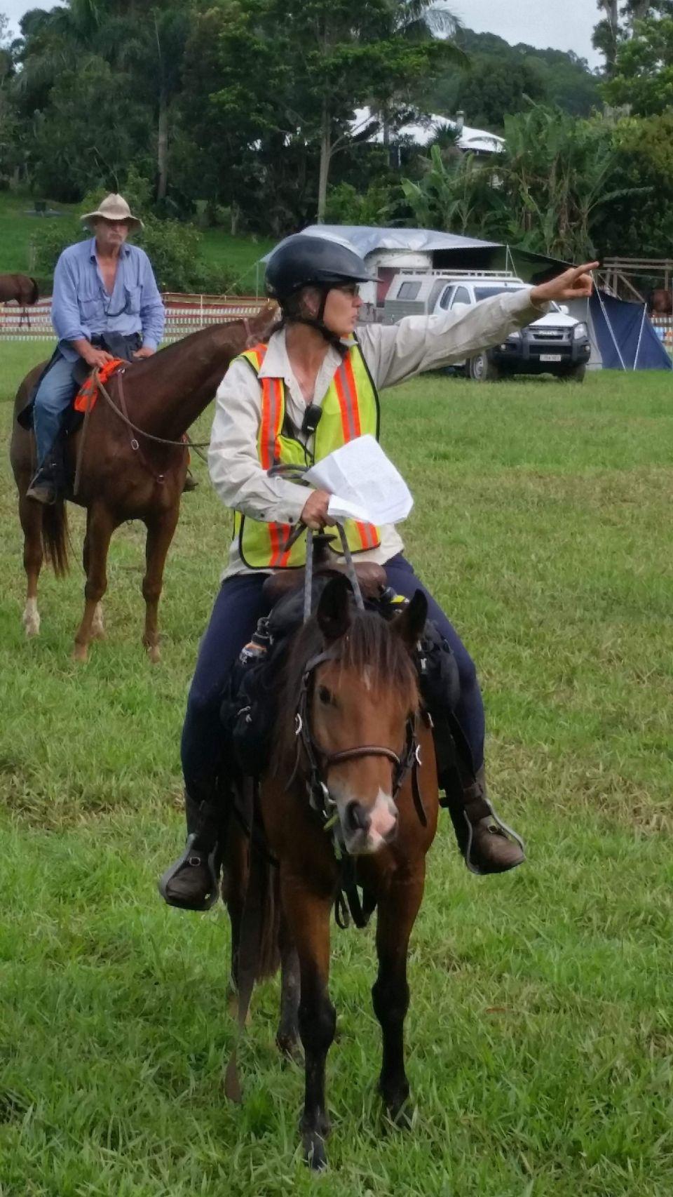 Trail Boss Megan at Easter camp
