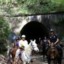 The tunnel at Landsborough