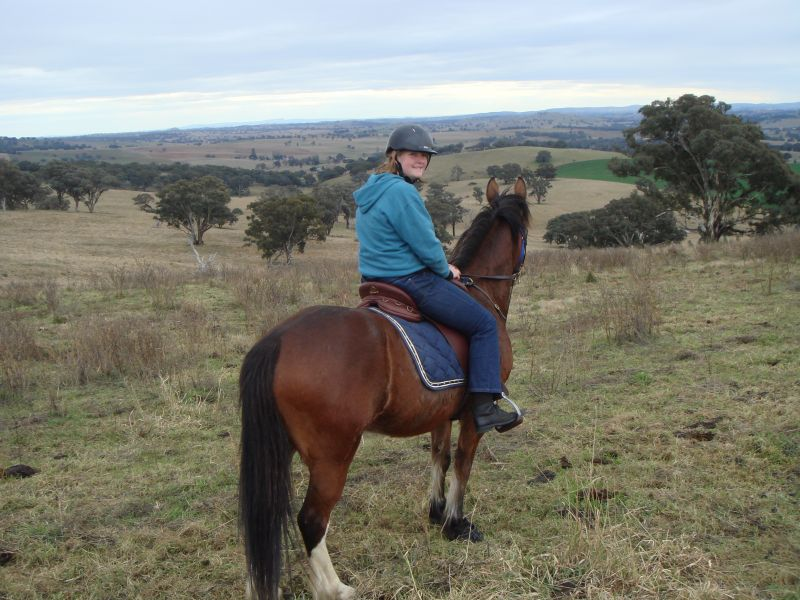 Ride at Coombing Park at Manduramah with the Cowra Trail Horse Riders
