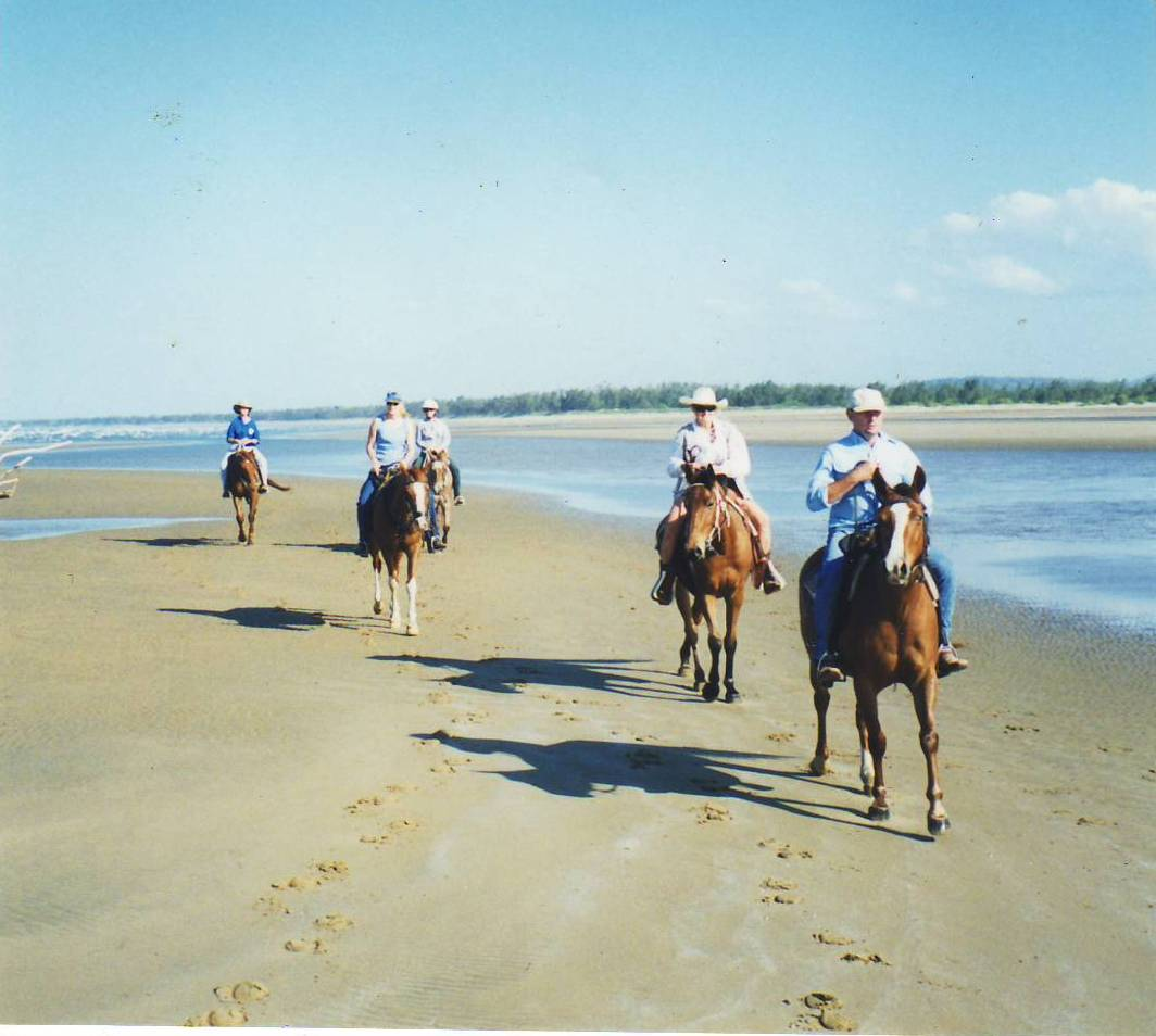 Cungulla Beach Ride, Cape Cleveland