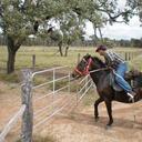 Ken riding Baby Girl