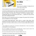President report 2016 wrap
