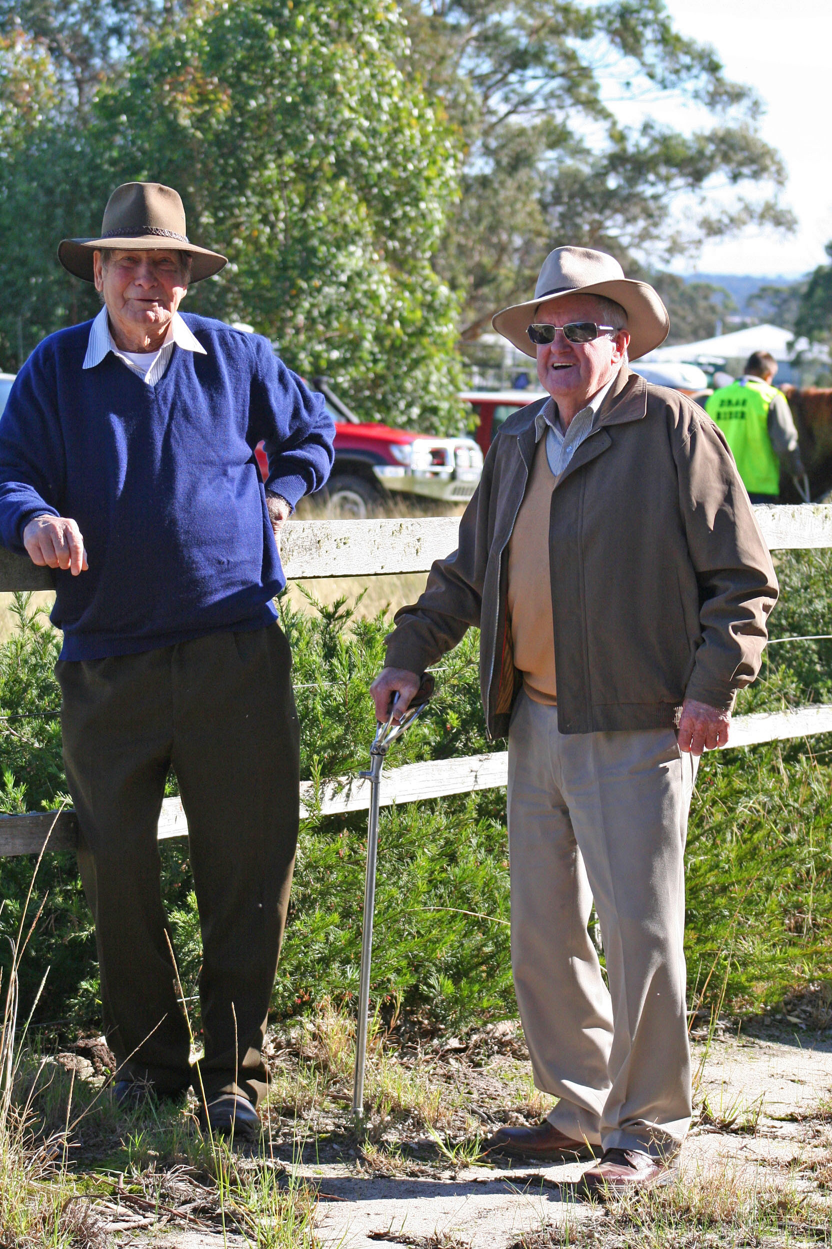 Tambo Upper celebrated it's 25th Anniversary of Incorporation. The club has been going for about 30 years. Original members Tommy Smith and Walter Kinghorn came along to enjoy the celebrations.